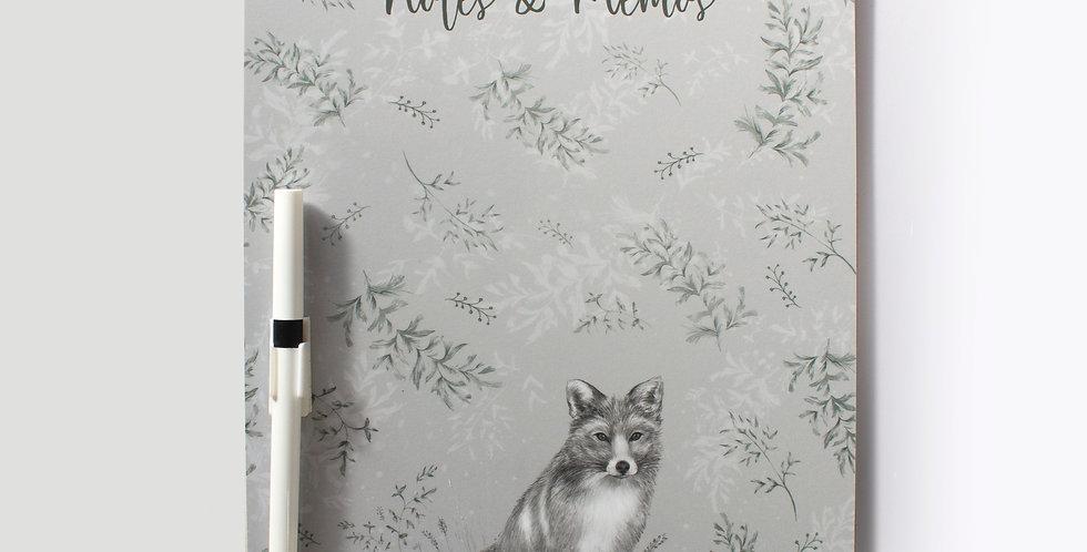 Memo Board - Fox & Fern