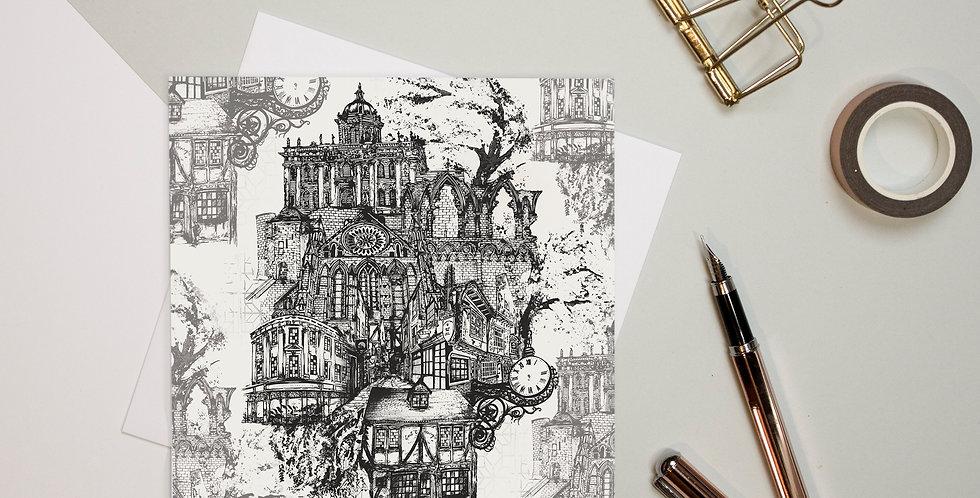 Greeting Card - York   Rhianne Siân Designs