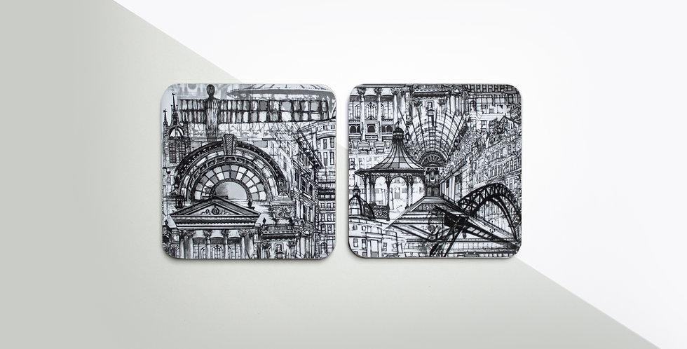 Coaster Set (4) - Newcastle
