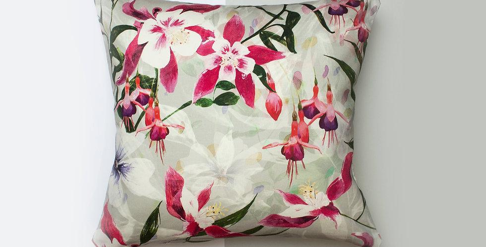 Cushion - Fuchsia Floral
