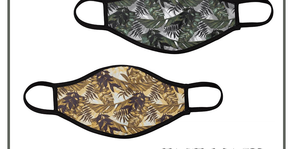 Tropical Reusable Face Masks (2 Pack)