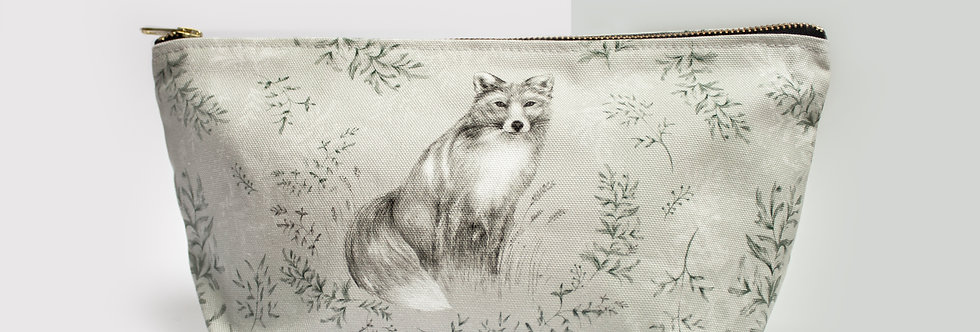 Fox & Fern Cosmetic Bag