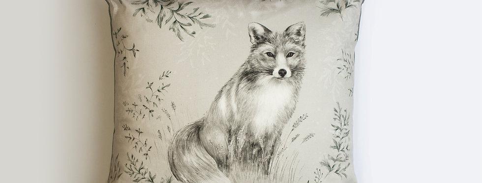 Fox & Fern Cushion