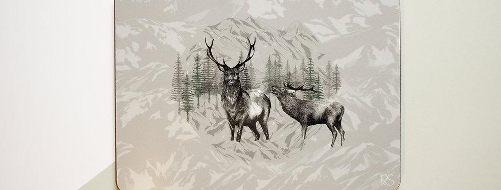 Highland Deer Placemat