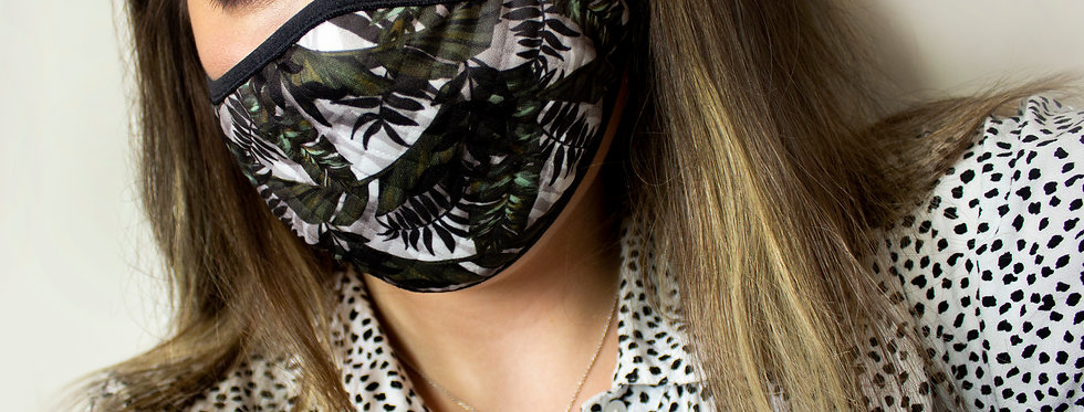 Tropical Reusable Face Mask