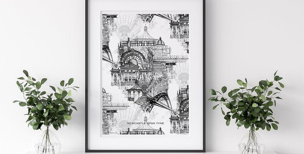 Newcastle Upon Tyne | Rhianne Siân Designs