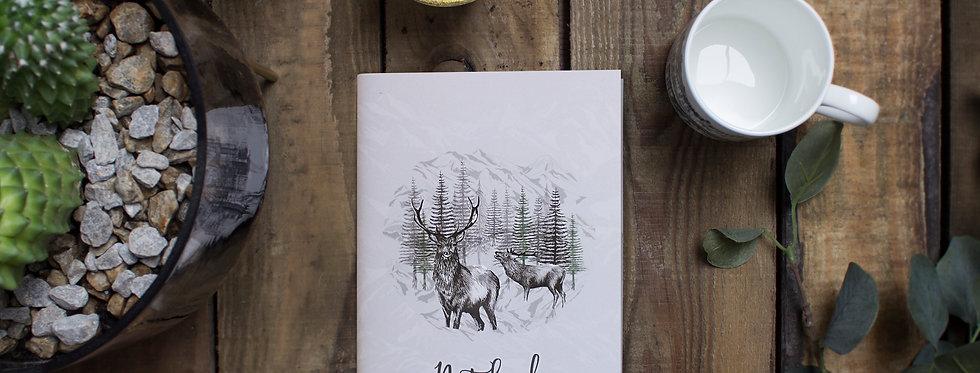 Highland Deer Notebook