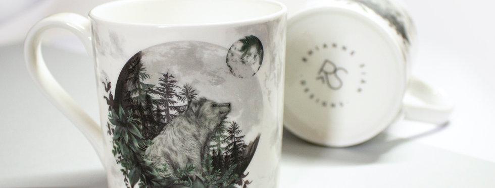 Luna Bear Bone China Mug
