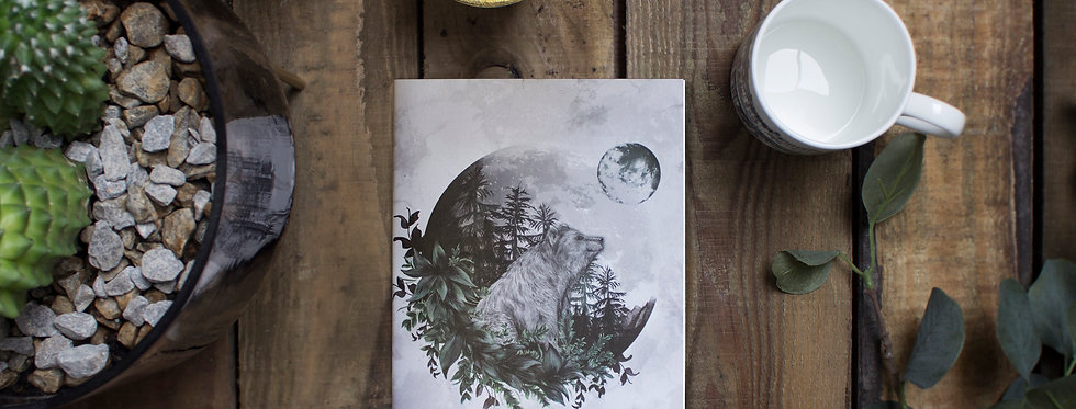 Luna Bear Notebook