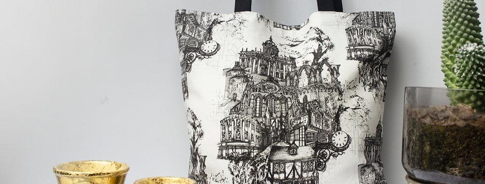 York Illustrated Tote Bag