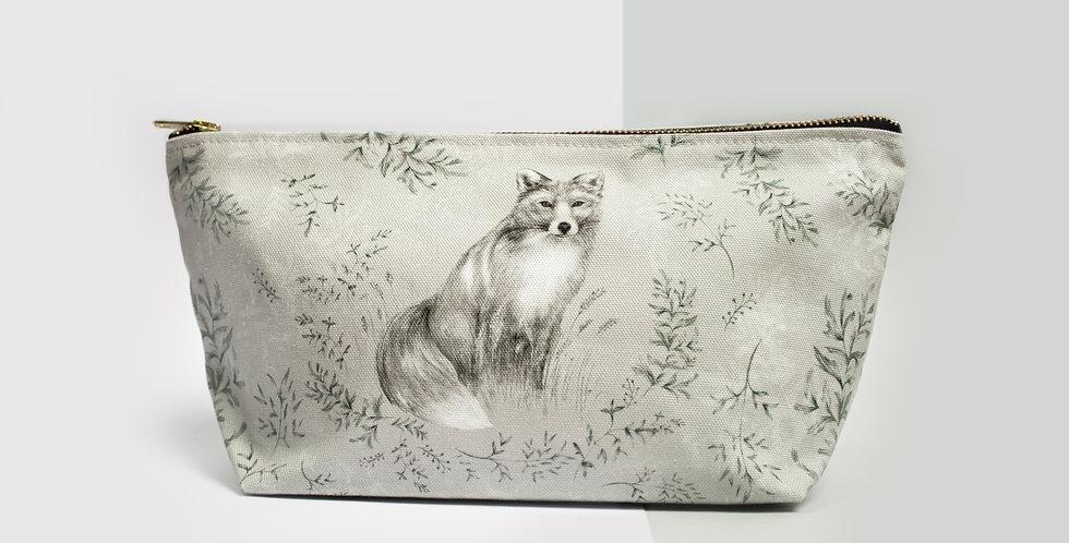 Zip Bag - Fox & Fern   Rhianne Siân Designs