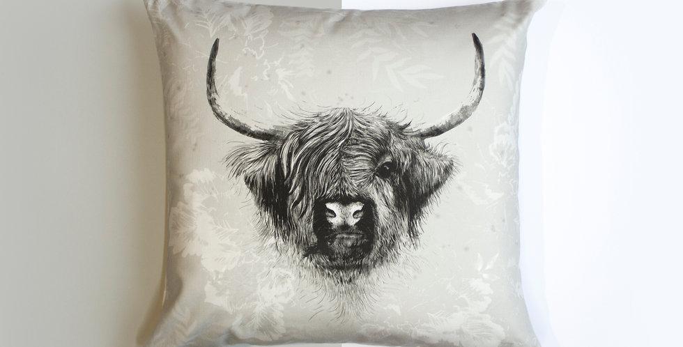 Cushion - Highland Cow