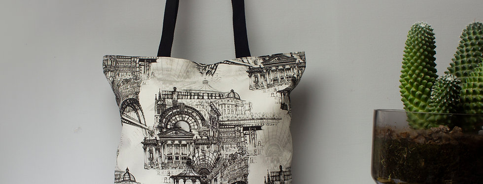 Newcastle Upon Tyne Tote Bag