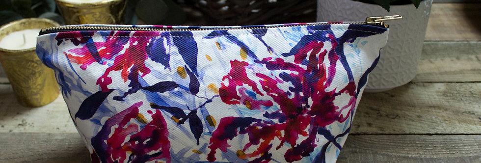 Abstract Floral Wash Bag