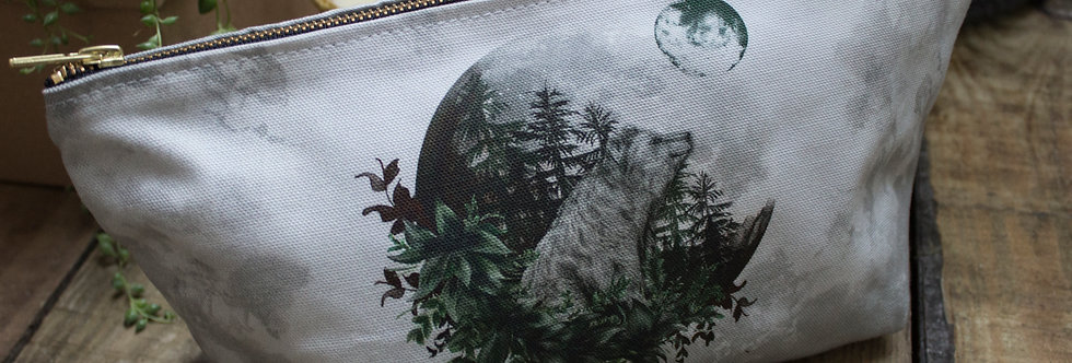 Luna Bear Wash Bag