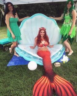 Our mermaid and fairies had a wonderful