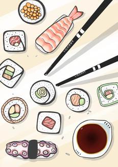 Une envie de sushis