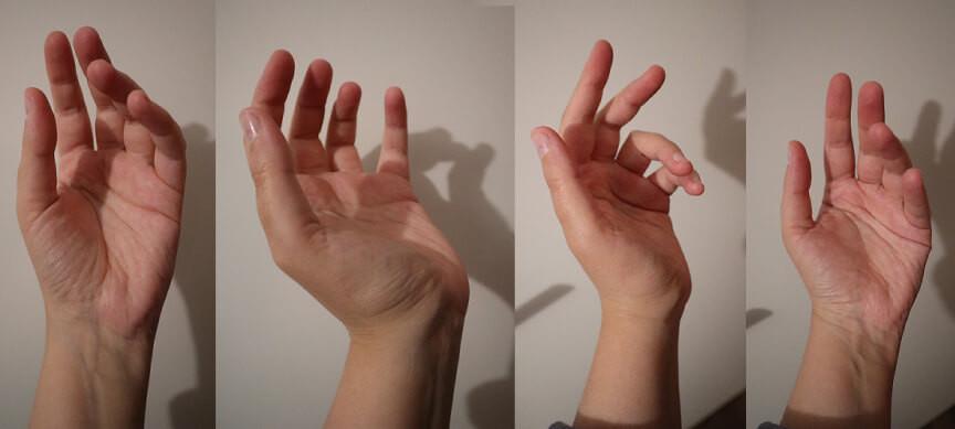 Photos références mains