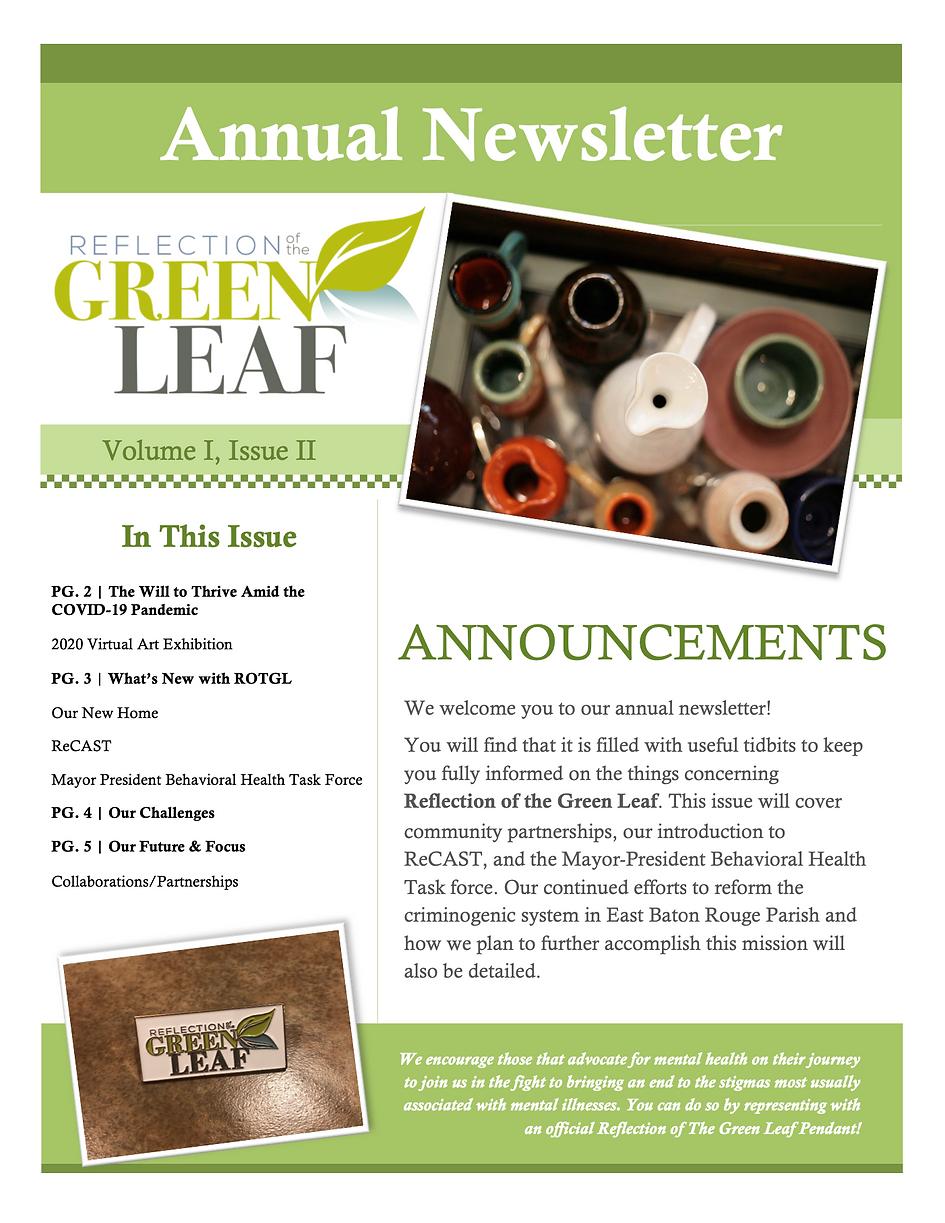 2020 Newsletter 1