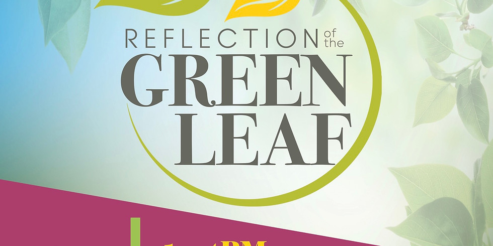 Reflection of The Green Leaf