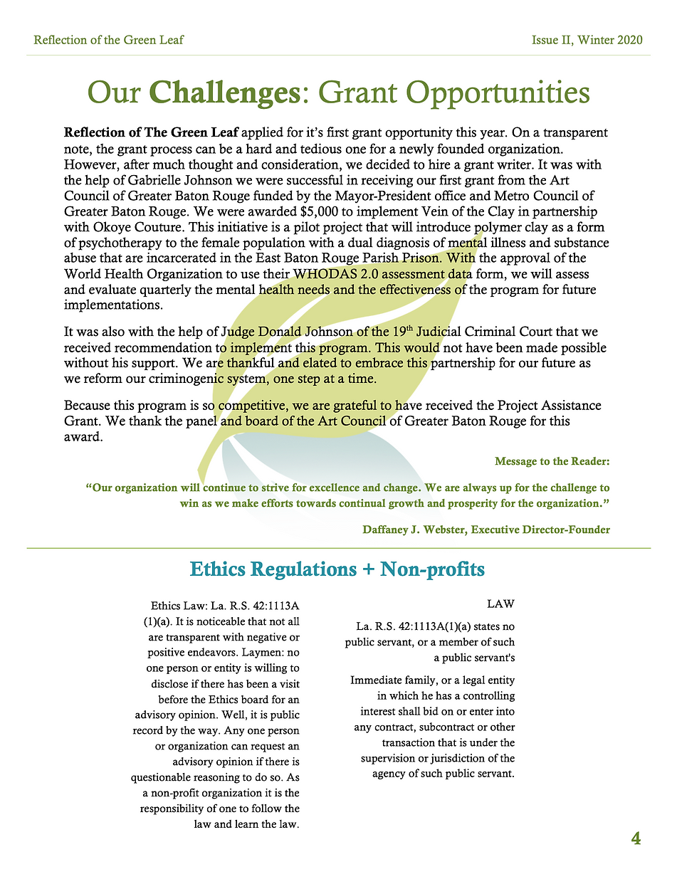 2020 Newsletter 4