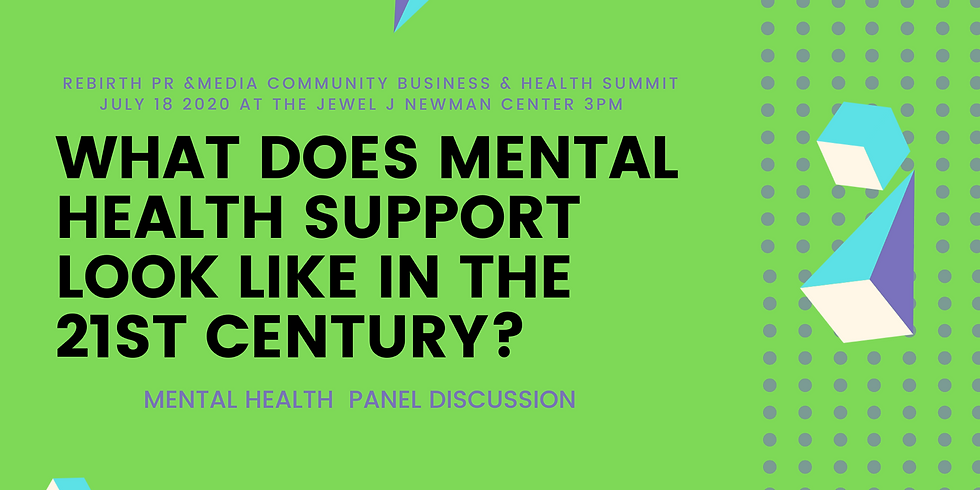 What does mental health support look like in the 21st century
