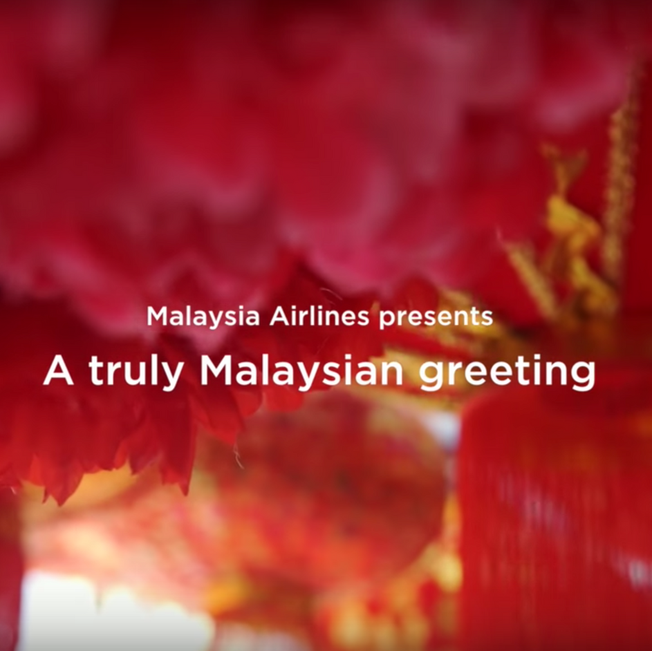 A truly Malaysian greting