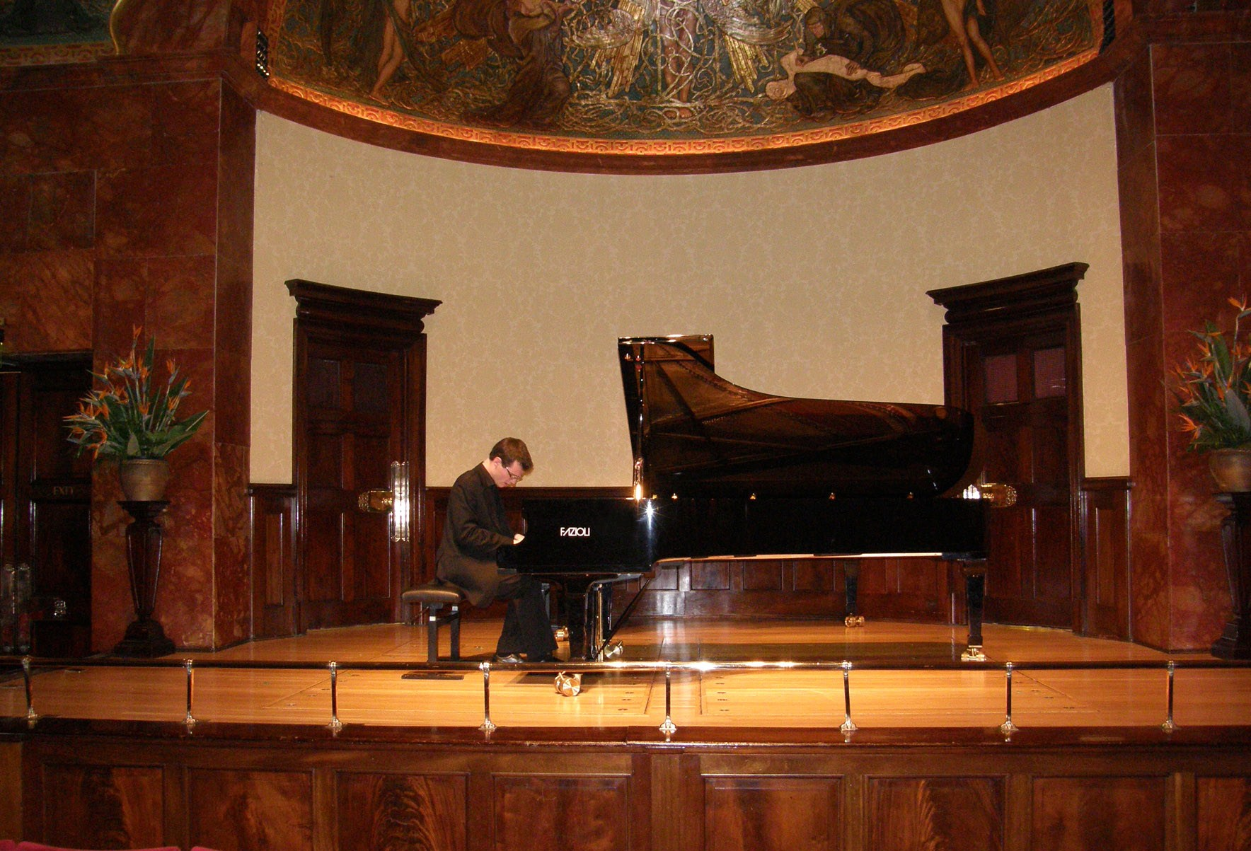 solo recital at the Wigmore Hall, London