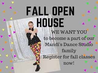 Fall Open House 2017!