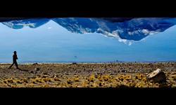 Nevado Ampato y Hualca  Hualca