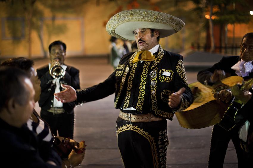La noche del mariachi