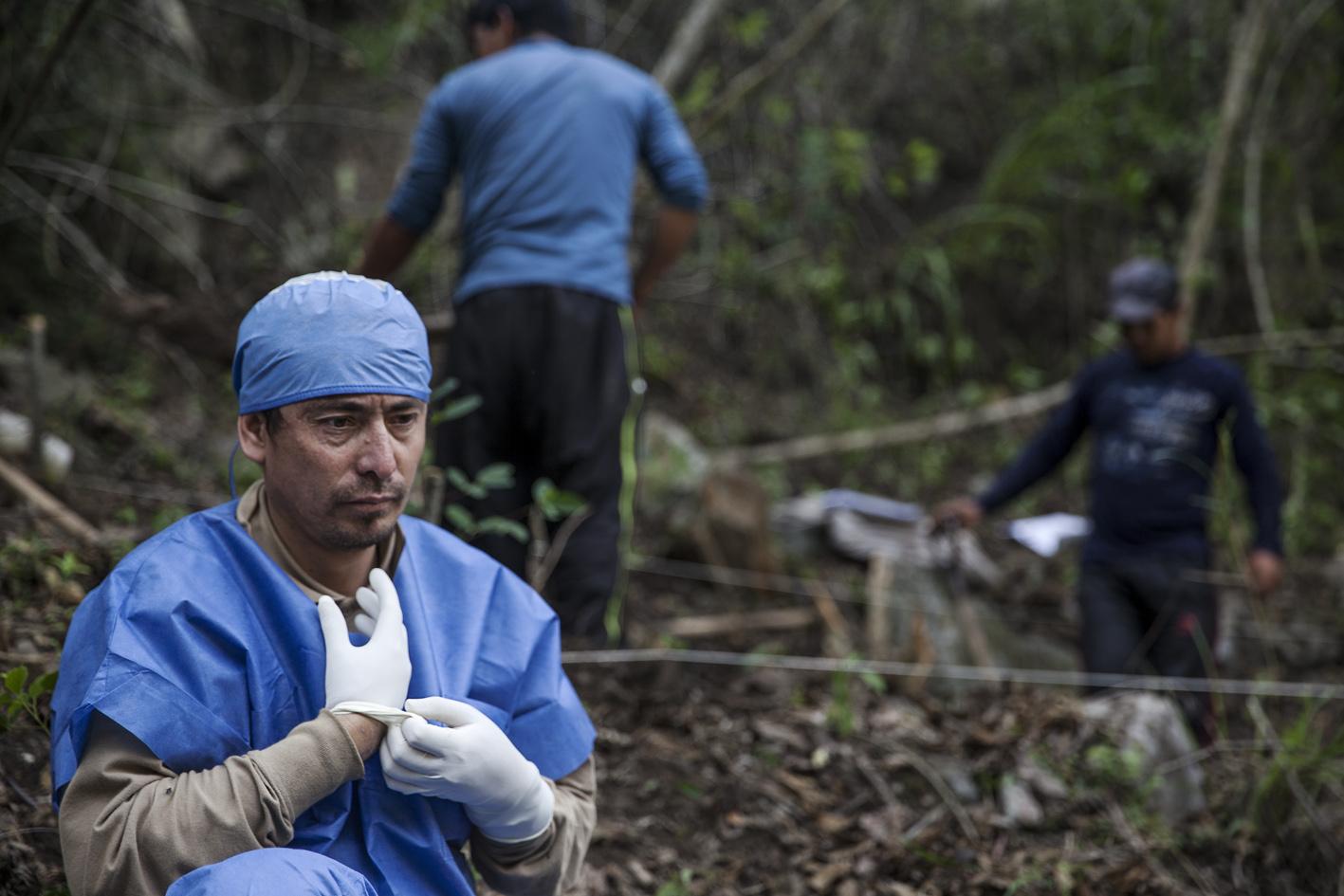 El Exhumador de los Andes 001