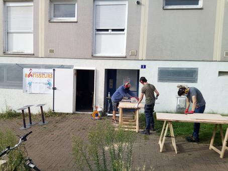 Semaine Solidaire : une dizaine de chantiers des Compagnons Bâtisseurs