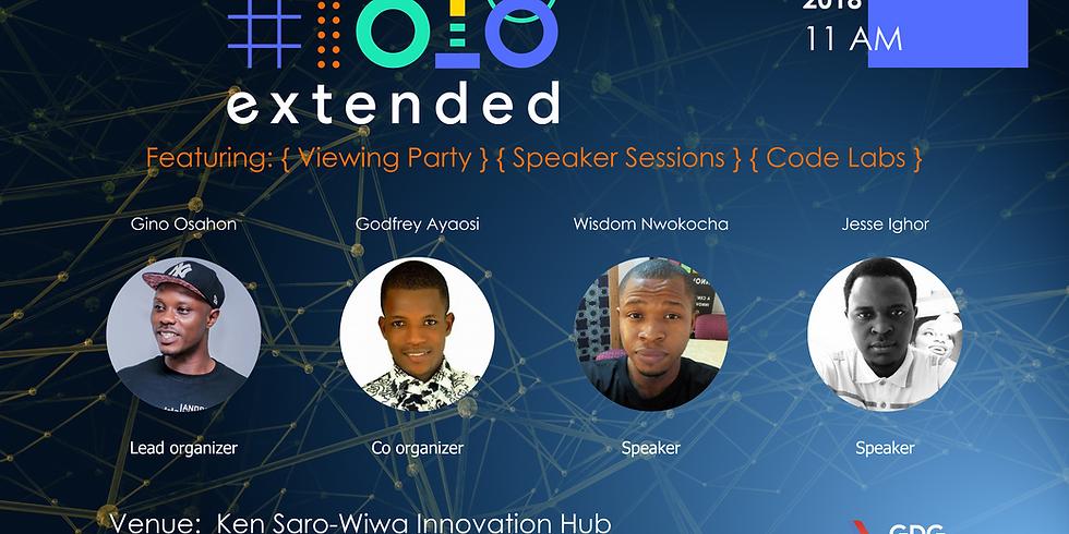 Google Developer Group Port Harcourt I/O Extended