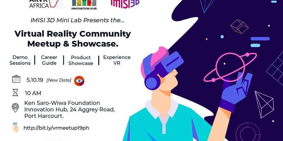 VR Community Meetup & Showcase