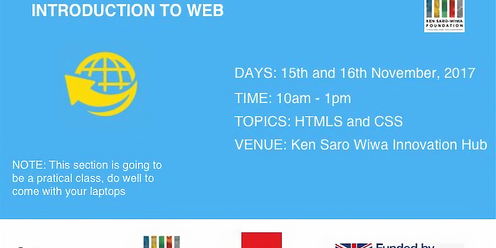 2 Days Introduction to Web Design Event