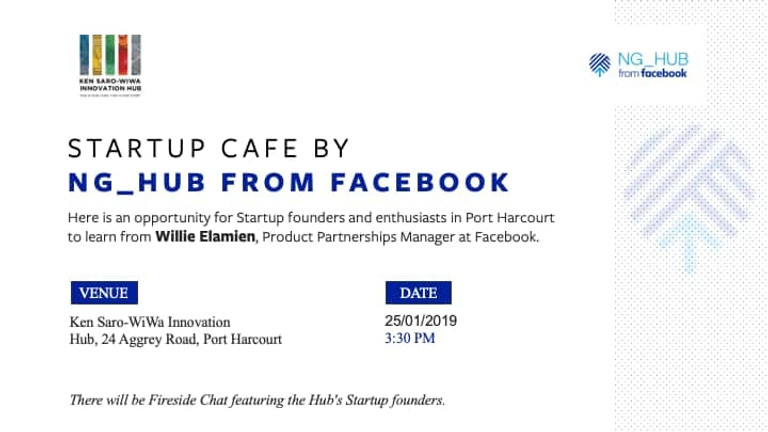 Startup Cafe from Facebook