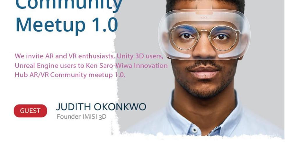 AR/VR Africa Community Meetup 1.0.