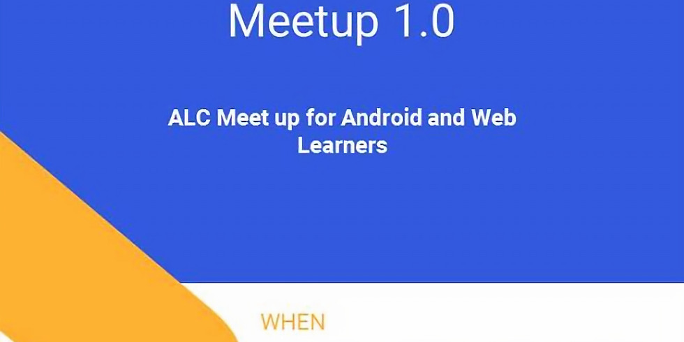 Andela Learning Community Meetup 1.0