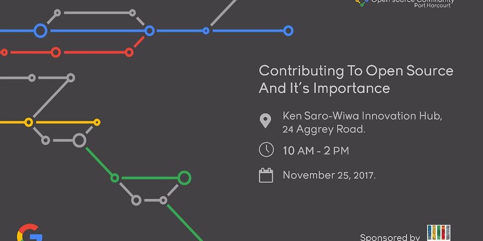Open Source Community Port Harcourt Event