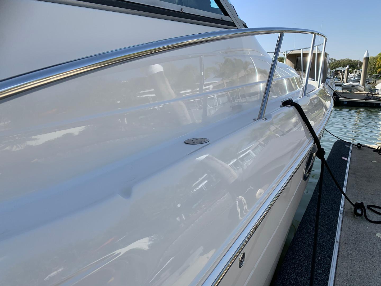 Monterey 322 gelcoat polishied