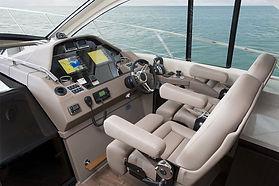 boat helm detailing