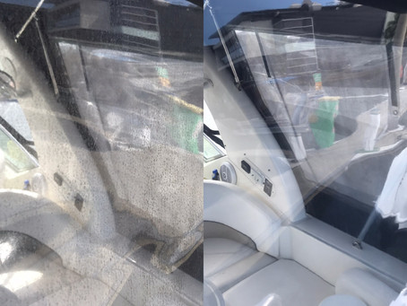 How to clean and protect boat clears