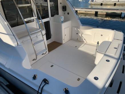 Detailed Boat Cockpit