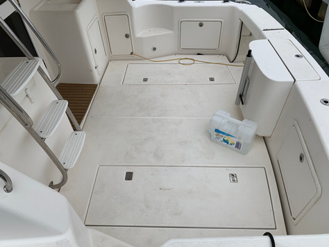 Dirty Boat Cockpit
