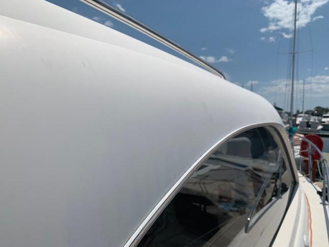 oxidised boat