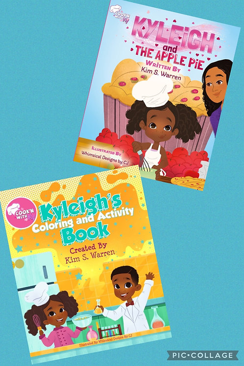 Book Bundle: Kyleigh and The Apple Pie & Kyleigh's Coloring and Activity Book