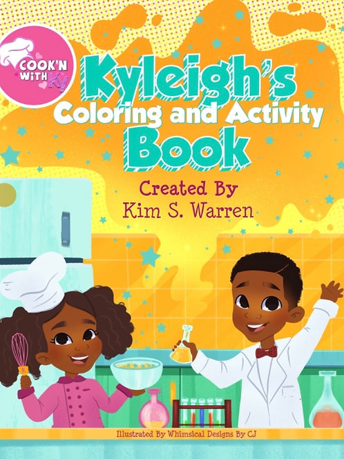 Kyleigh's Coloring and Activity Book