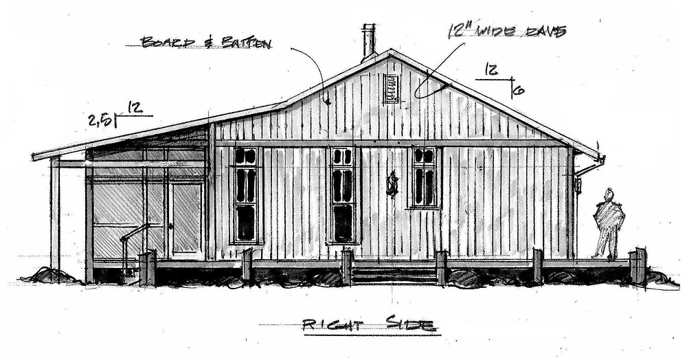 Florida Cracker Hindsight Home Design Chris Eller Rustic Cabin Boardwalk boat do