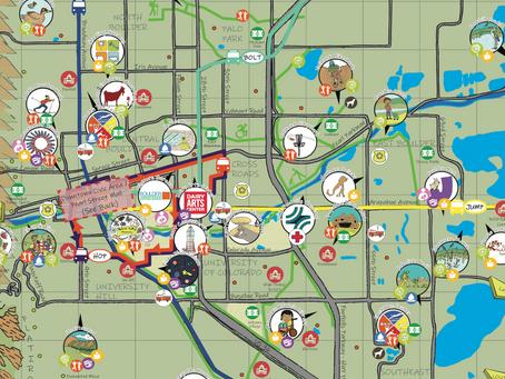 Kid-friendly Boulder Map